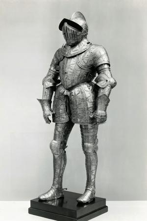 Display of a Knights Armor