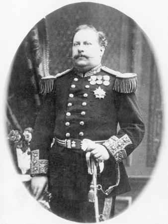 King Luis I of Portugal in Uniform