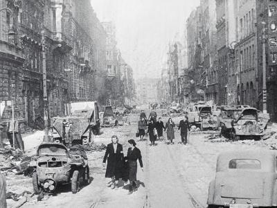 Destroyed Streets in Berlin