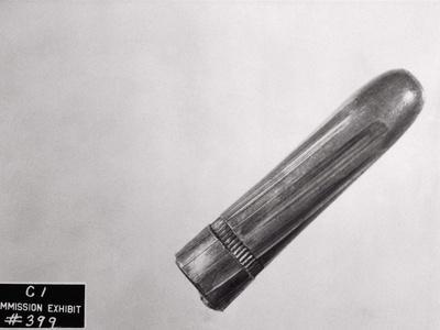 Imposed View of John F. Kennedy's Assassin's Bullet