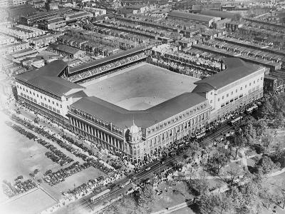 Aerial View of Shibe Park