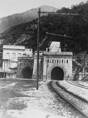 Train Tunnel of the Rhone Valley