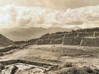 Ancient Fortress Ruins of Peru