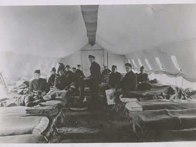 French Field Hospital during World War I