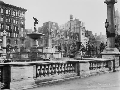 View of Pulitzer Fountain at Grand Army Plaza