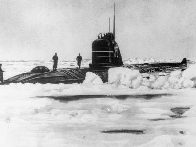 Soviet Submarine at the North Pole