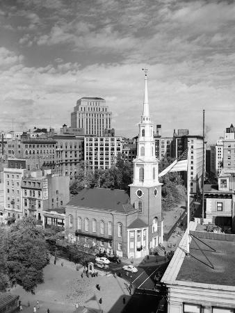 Boston's Famed Brimstone Corner