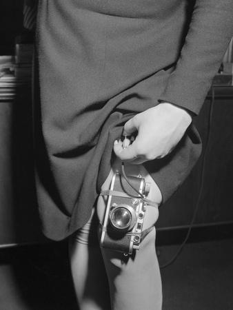 Leg-Mounted Spy Camera