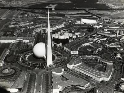 View from Air of Ny World's Fair