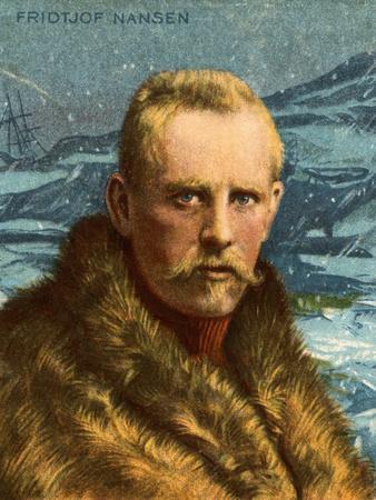 Portrait of Fridtjof Nansen