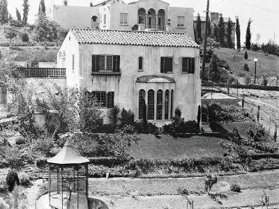 Hollywood Home of Rudolph Valentino