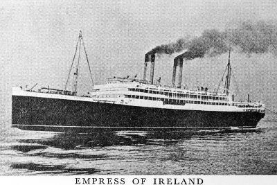 Photograph of the Empress of Ireland