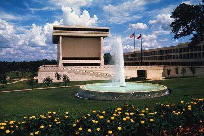 Exterior View of Lyndon B Johnson Library