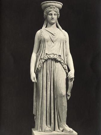 Caryatid at Vatican Museum