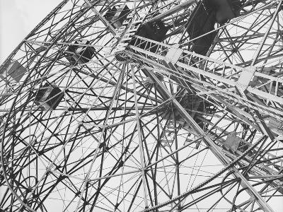 Close-Up of Coney Island Ferris Wheel