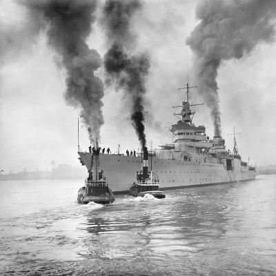 USS Indianapolis Beginning Trial Cruise