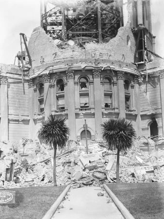 Ruined Facade of San Francisco City Hall