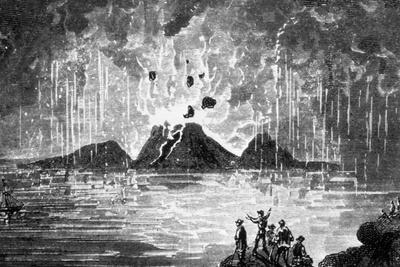 Santorini, Greece: Explosive Eruption