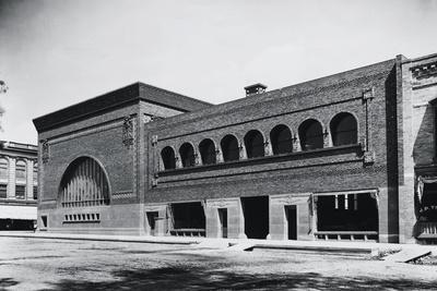 Exterior View of the National Farmers Bank by Louis Sullivan