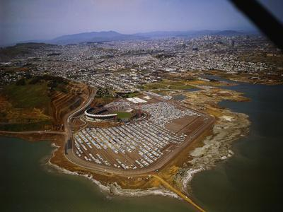 Candlestick Park from a Distance