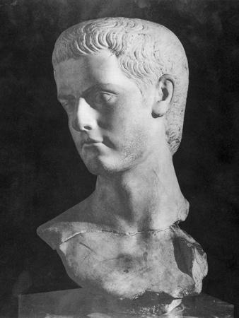 Bust of Roman Ruler Caligula