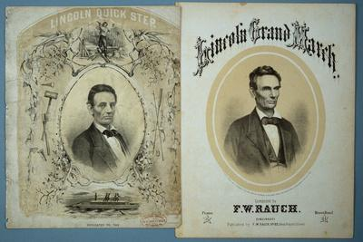 Lincoln 1860 Campaign Sheet Music