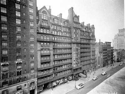 Chelsea Hotel in New York