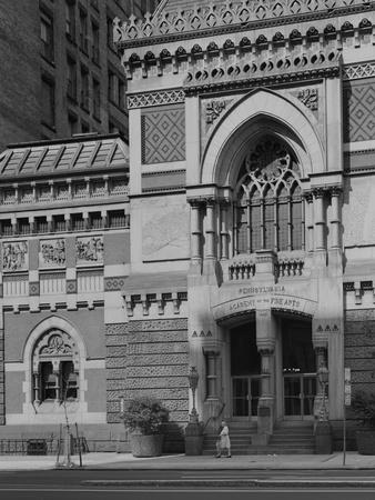 Central Doorway of the Pennsylvania Academy of the Fine Arts