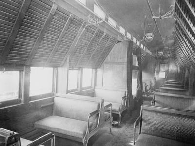 Interior of Pullman Railroad Car