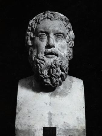 Statuette of Greek Comedy Writer Aristophanes