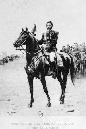 Portrait of French General Georges Boulanger