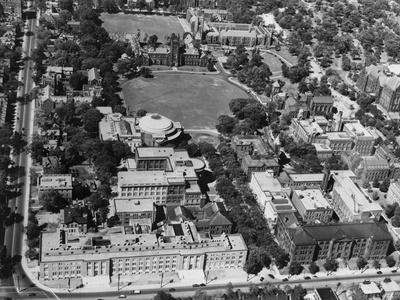 Aerial View of the University of Toronto