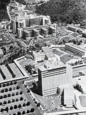 Aerial View of Caracas Buildings