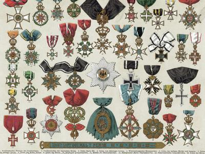 Forty German Medals