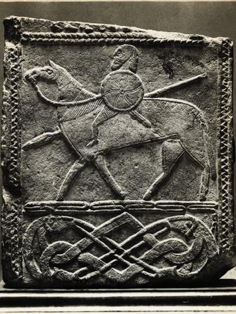 Relief of German Knight