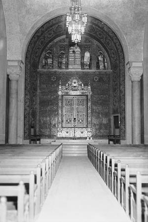 Interior View of the Temple Emanuel