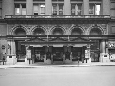 Carnegie Hall Entrance -- Exterior View