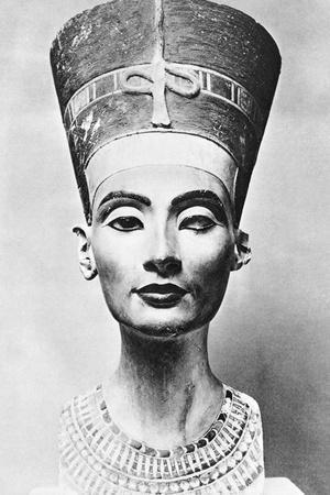 Limestone Bust of Queen Nefertiti