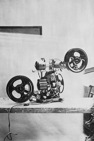Early Talkie Movie Projector