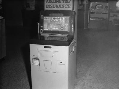 Coin Operated Airline Insurance Machine
