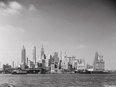 Manhattan across River