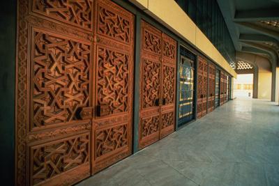 Interior of the Royal Mosque of Riyadh