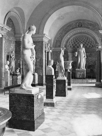 Statues of Gladiators in the Louvre Museum