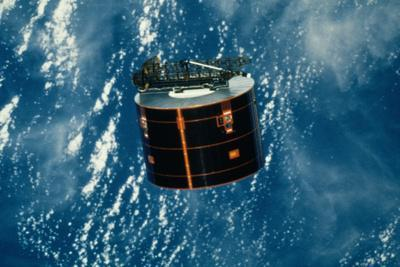 Discovery Satellite in Orbit