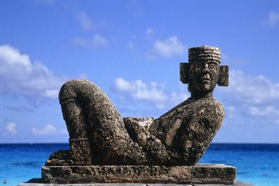 Sculpture by the Ocean in Cancun, Mexico