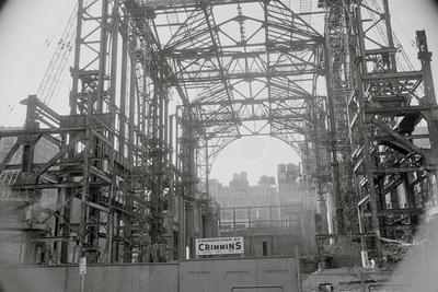 Steel Skeleton of Madison Square Garden