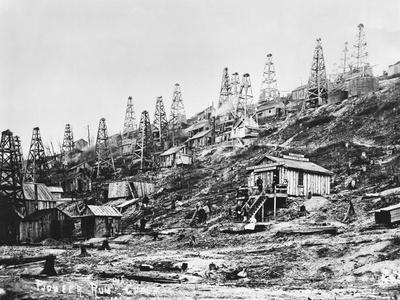 First Commercial Oil Well