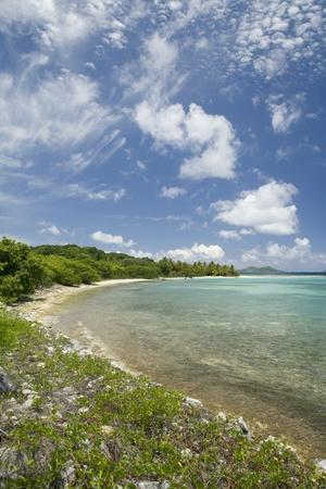 Beach at Well Bay, Beef Island, Tortola, British Virgin Islands