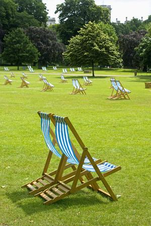 Deck Chairs in St. James Park