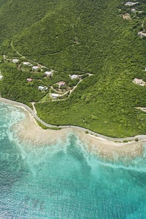 Coastline West of Road Town on Tortola